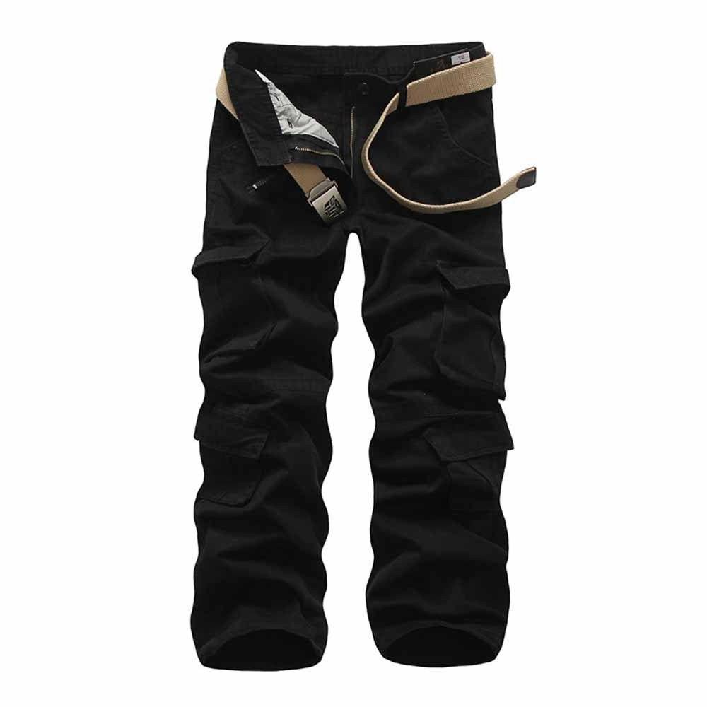 Military Men's Cotton Cargo Pants Army Style Trousers