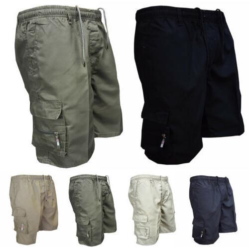 Mens Shorts Pants Casual Summer Gym Plain