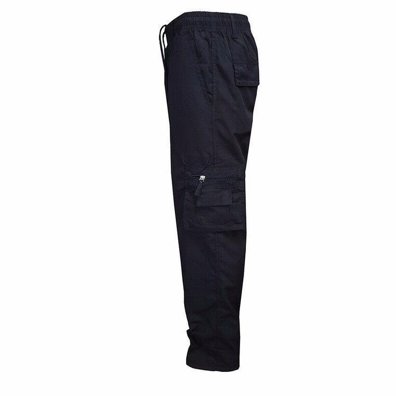Men's Waist Cotton Pants Camo Style