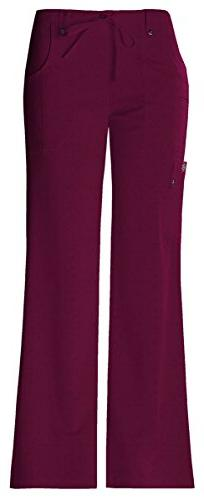 Dickies Women's Moderate Mid Rise Drawstring Cargo Pant_D-Wi