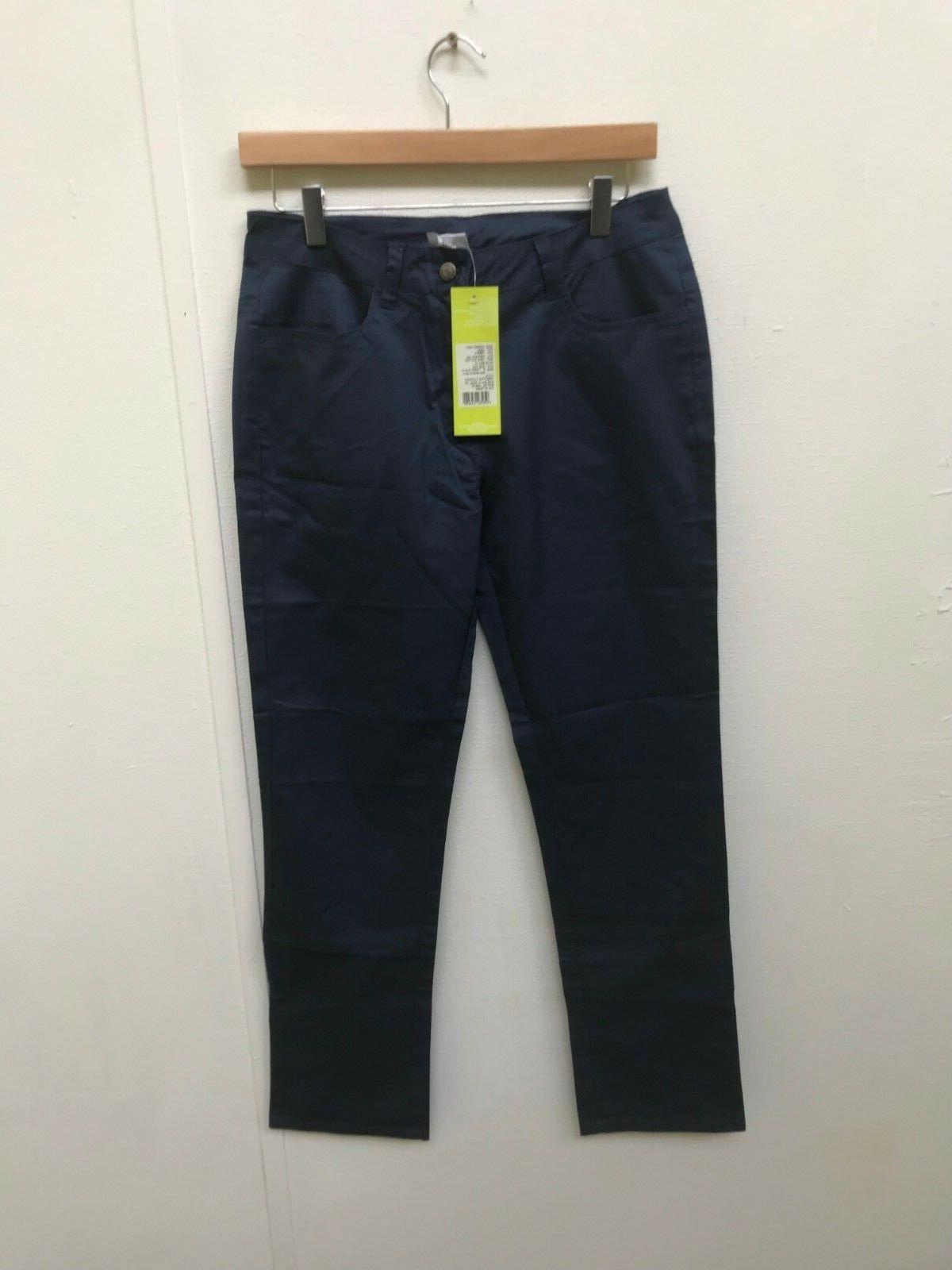 adidas NEO Women's Cargo Pants - Medium - Navy - New