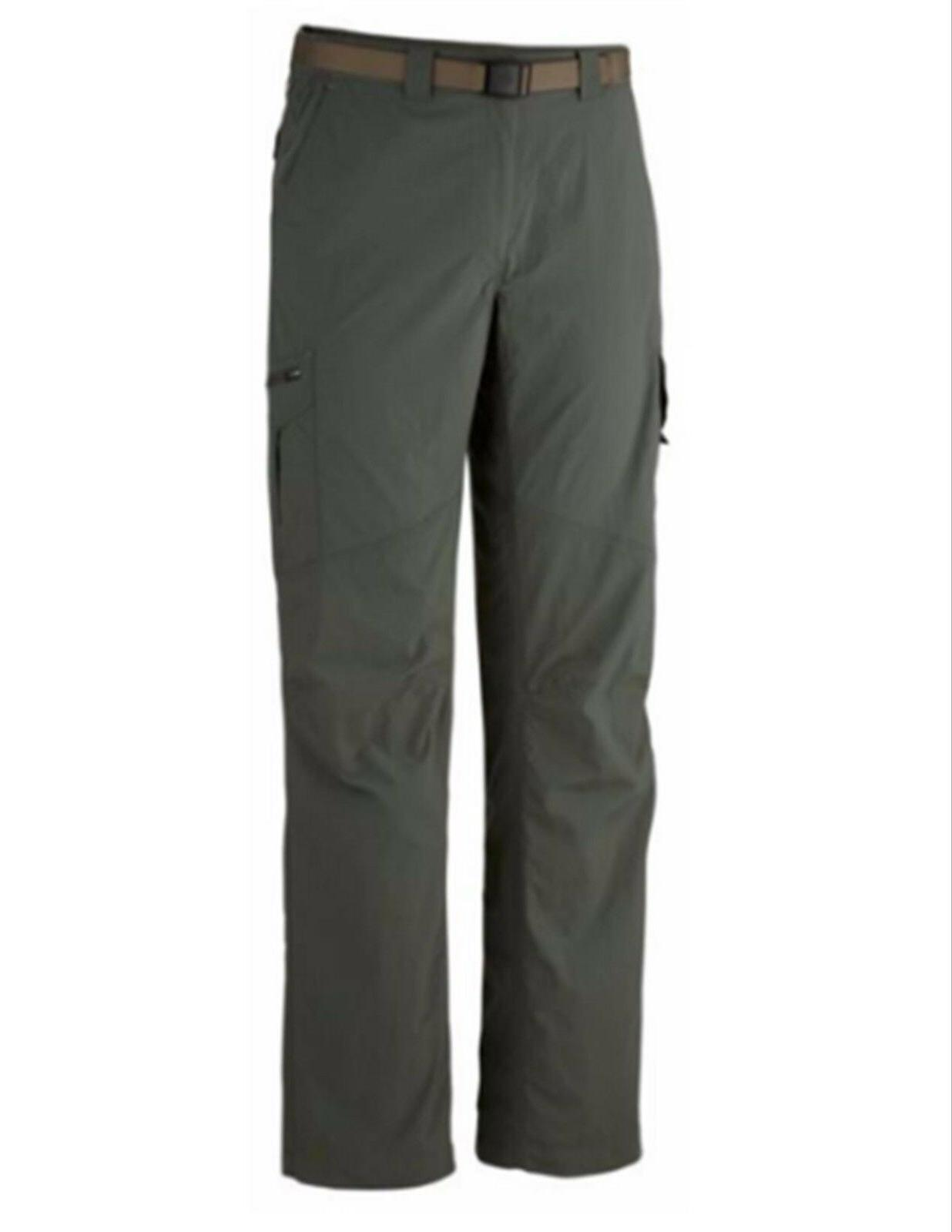 New Columbia Men's Kestrel Trail Pants UPF 50 ~ Gray ~ Choos