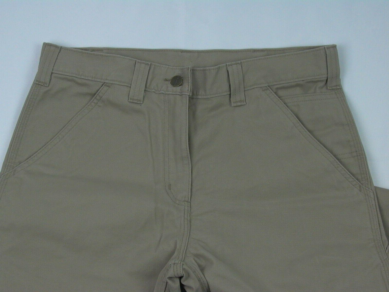 New Carhartt Men's Fit Washed Twill x Khaki Cargo Pants