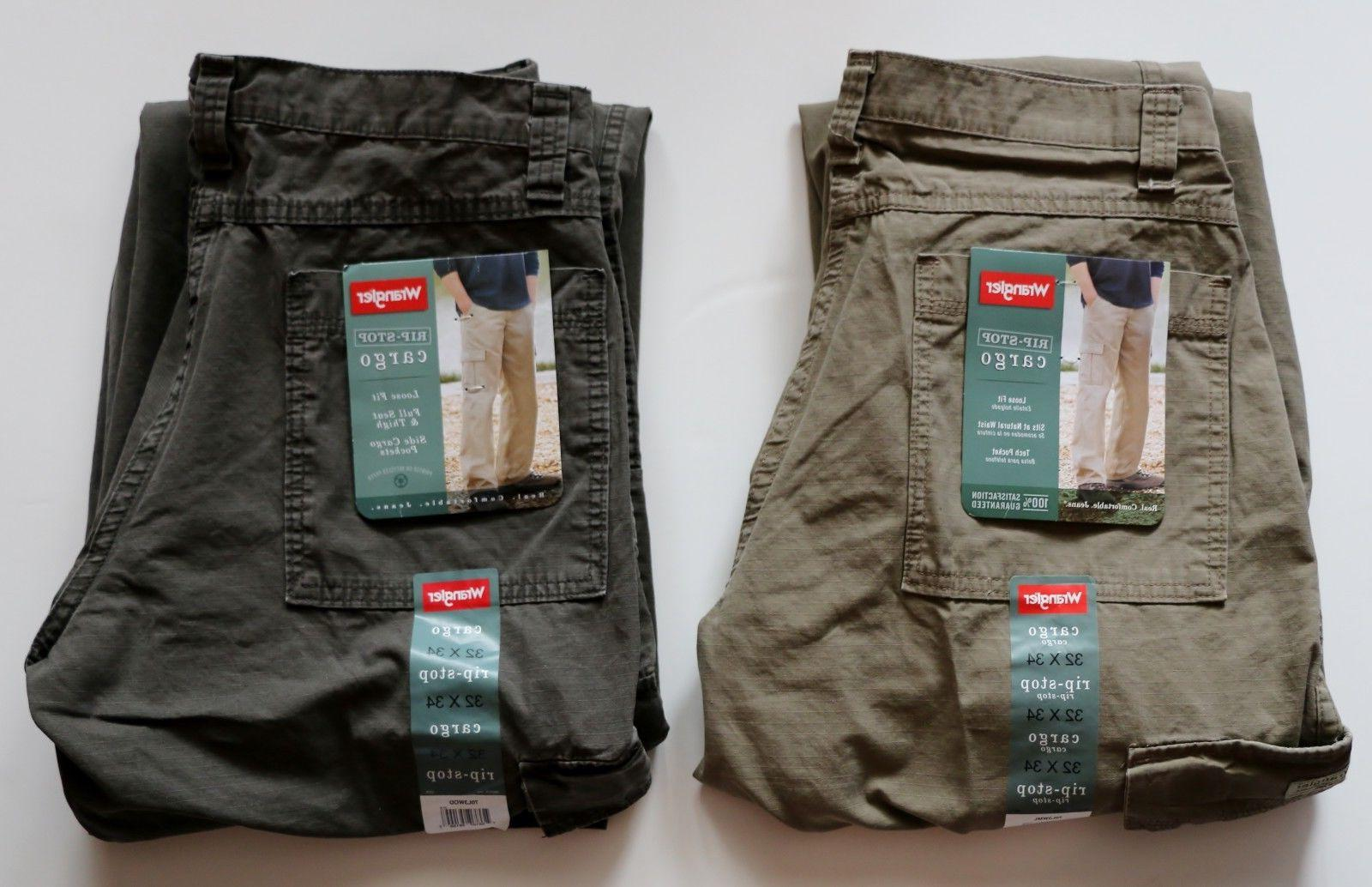 New Men's Cargo Pants Khaki