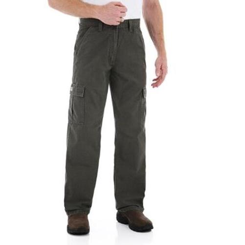 New Rip-Stop Cargo Pants Khaki Colors All