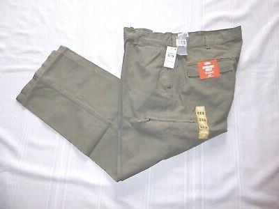 NEW DOCKERS Mens Classic Fit Pacific Crossover Cargo Khaki P