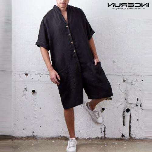 NEW One Linen Short Rompers Casual Hot