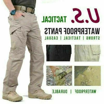 new soldier tactical waterproof trousers men cargo