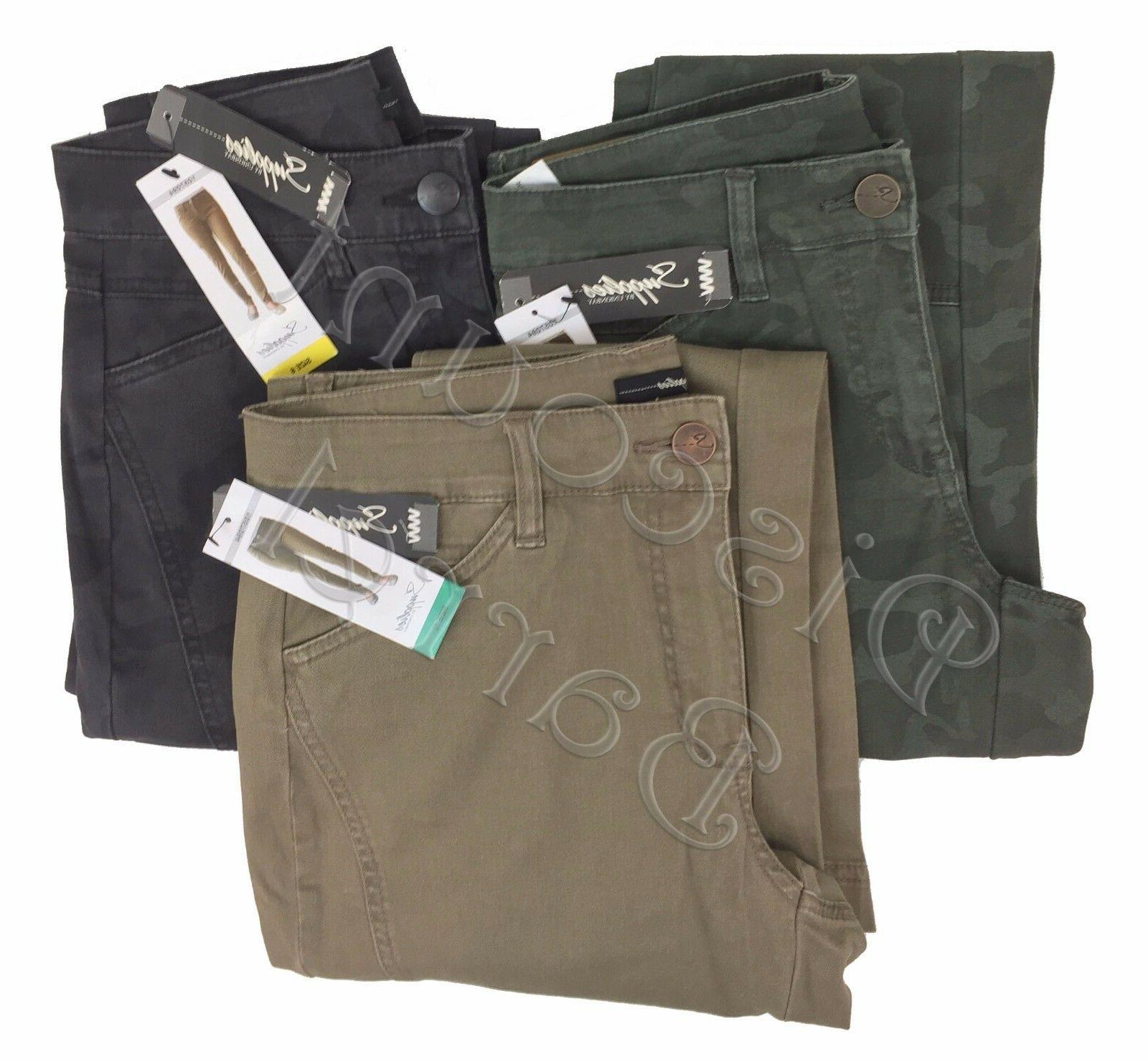New Supplies by UnionBay Women's Skinny Cargo Pants Variety