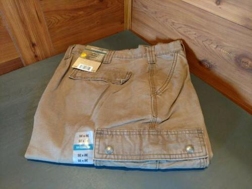 NEW W/TAGS MEN'S 36X32 CARHARTT RELAXED FIT RUGGED CARGO WOR