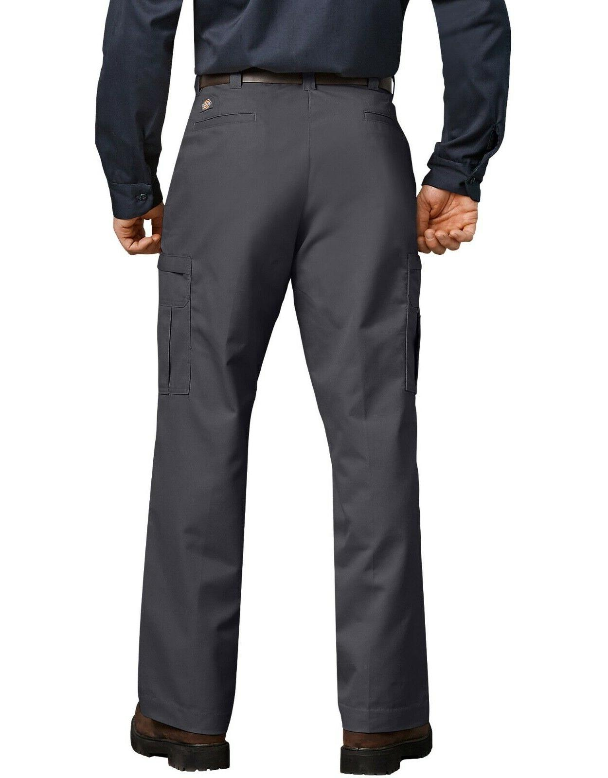 New with Mens Industrial Cargo Pants 2112372 Charcoal