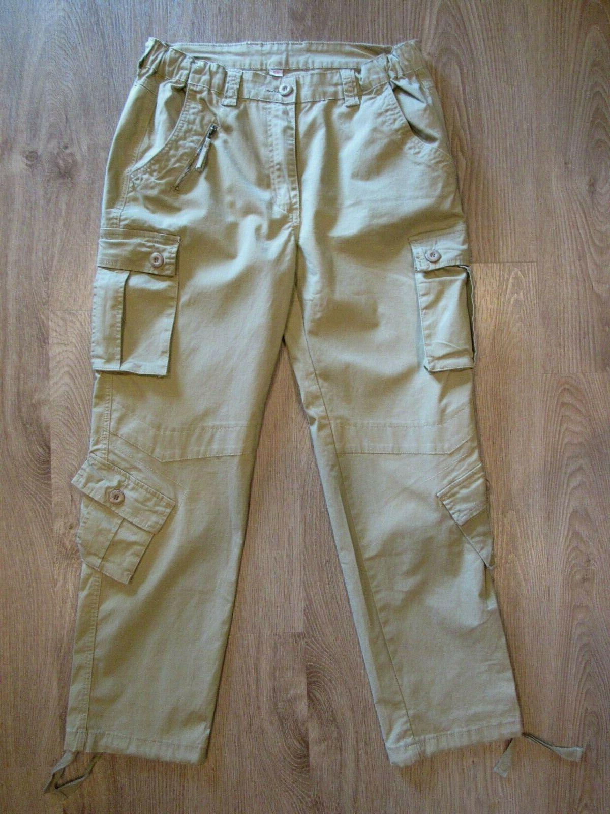 Must Tactical Pants~ Khaki Cotton~ 8 32 New!
