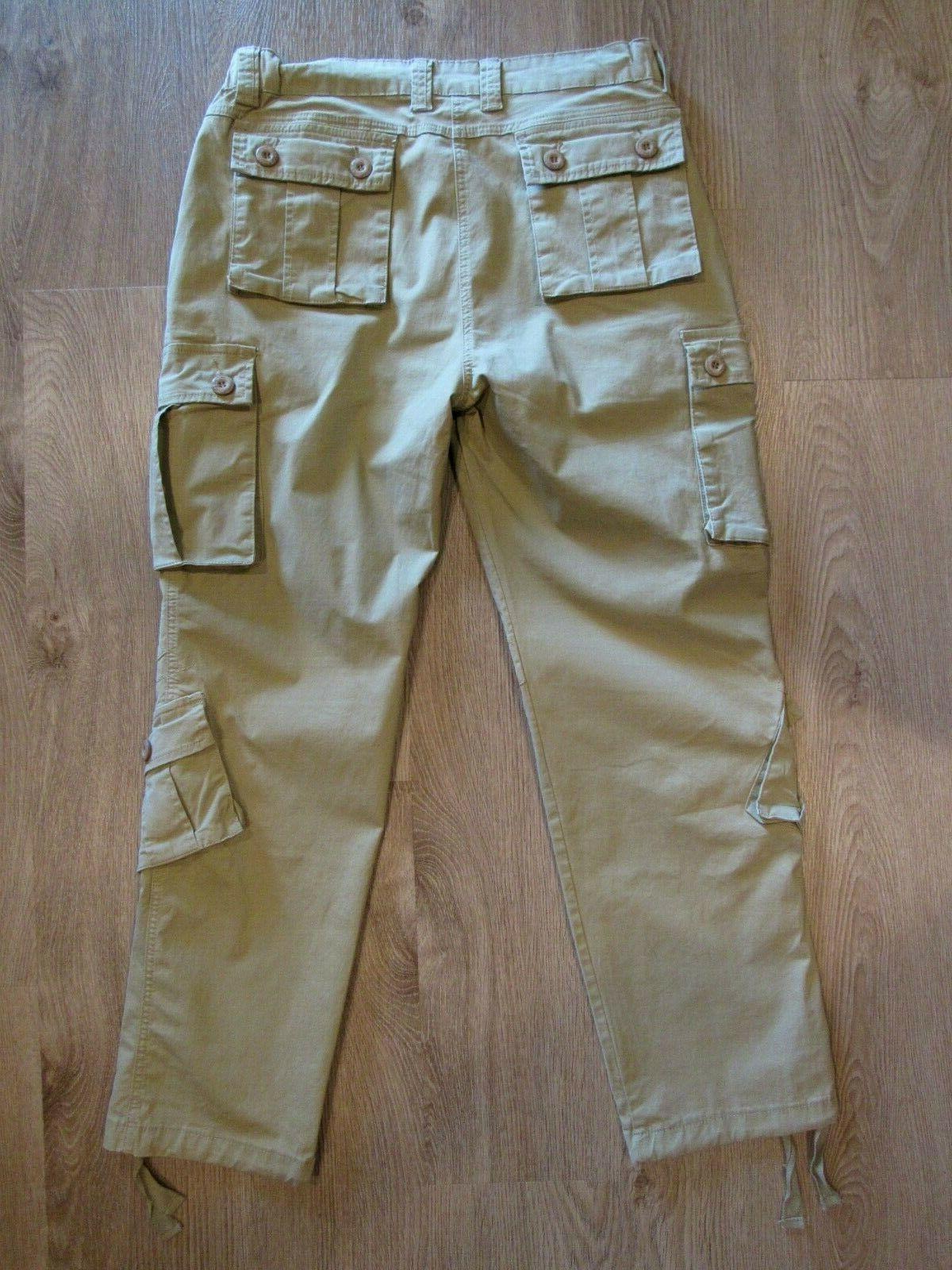 Must Way~ NWOT Mens Tactical Khaki Cotton~ 32 New!