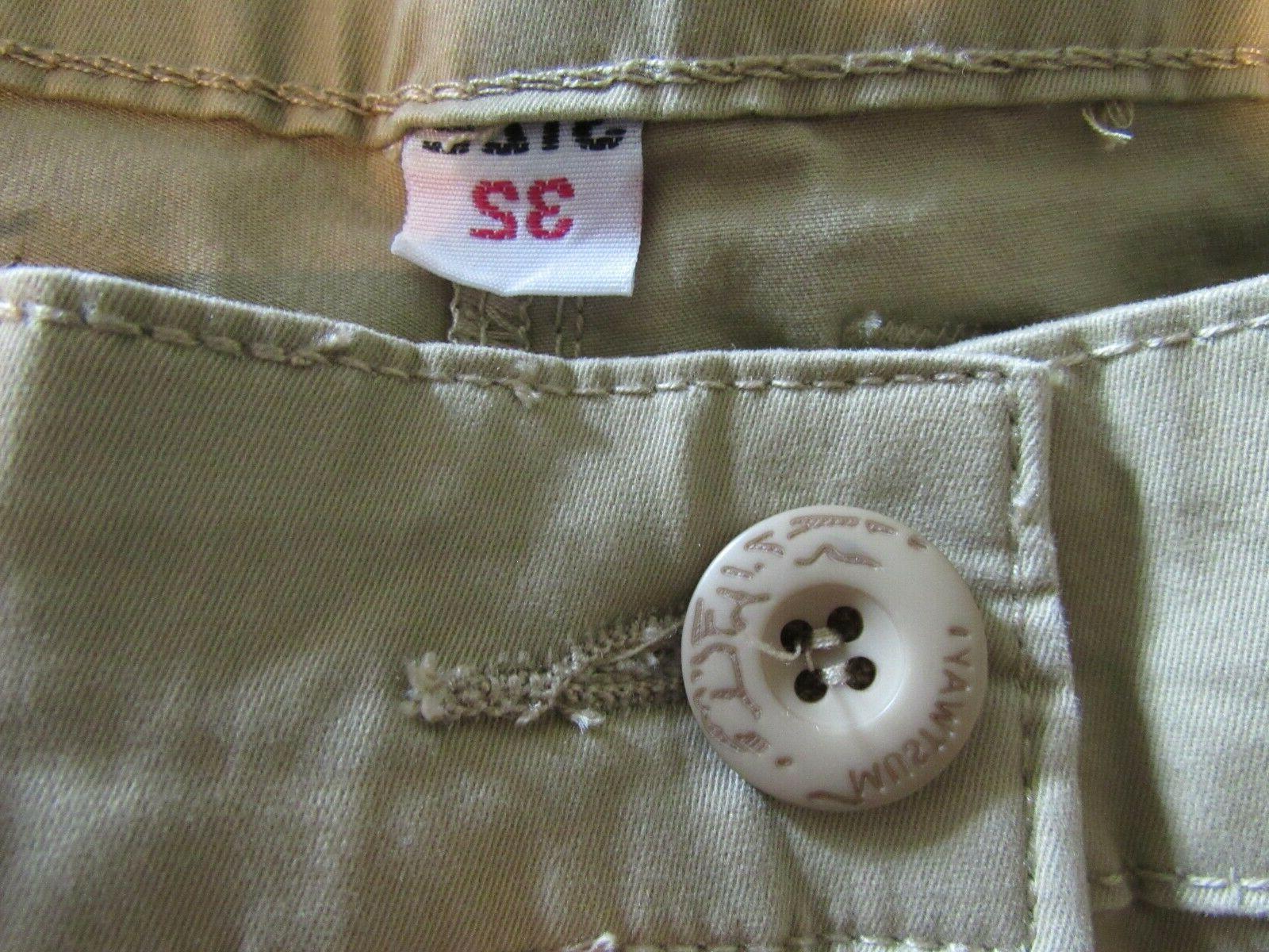 Must Way~ Tactical Pants~ Khaki Cotton~ New!