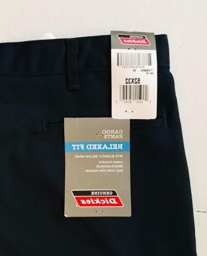 NWT Dickies Work Pants -Navy- Relaxed