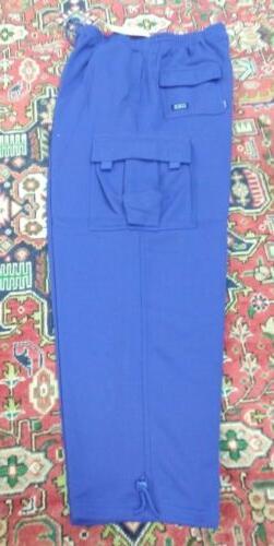 NWT Men's 4XL Fleece Cargo Sweatpants