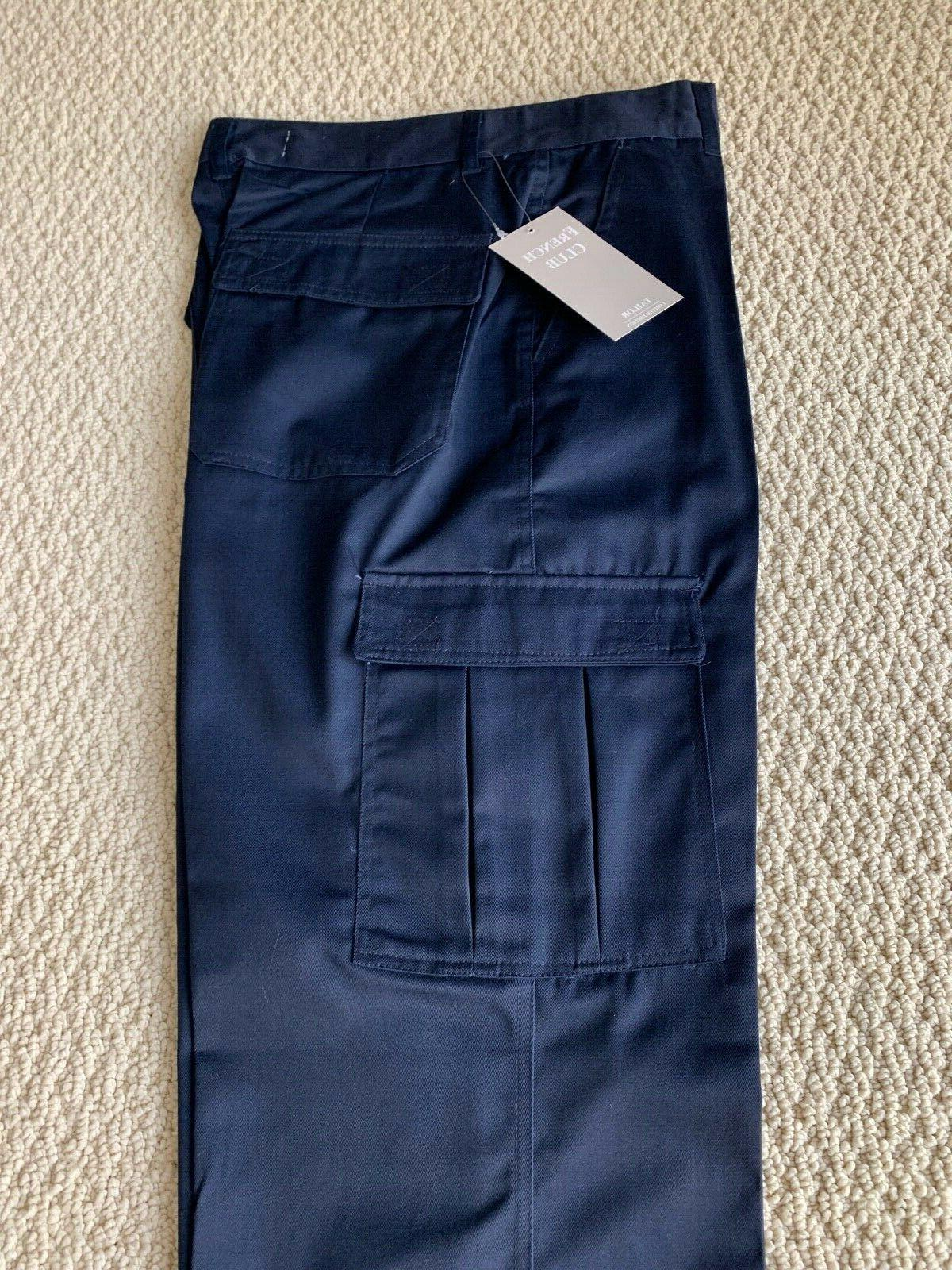 NWT Classic Blue Flap Cargo SIZE 30-40