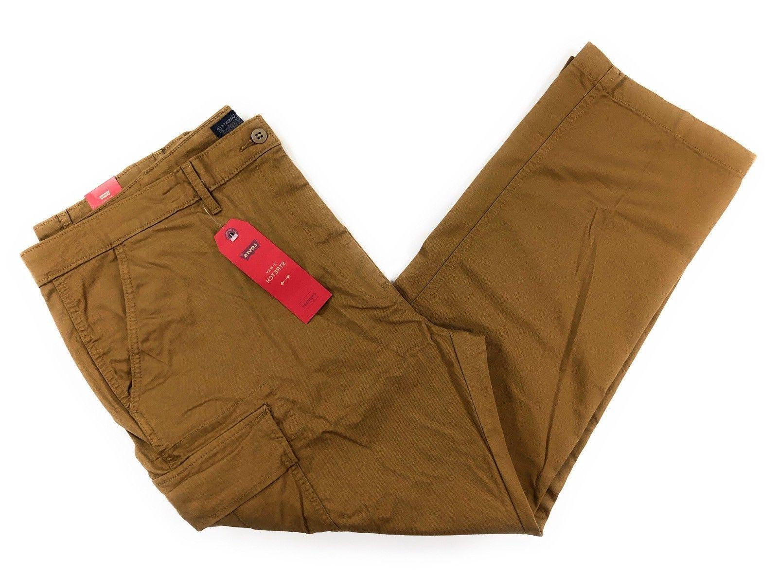 PANTS 541 Size 34x34 Athletic Fit Caraway Brown