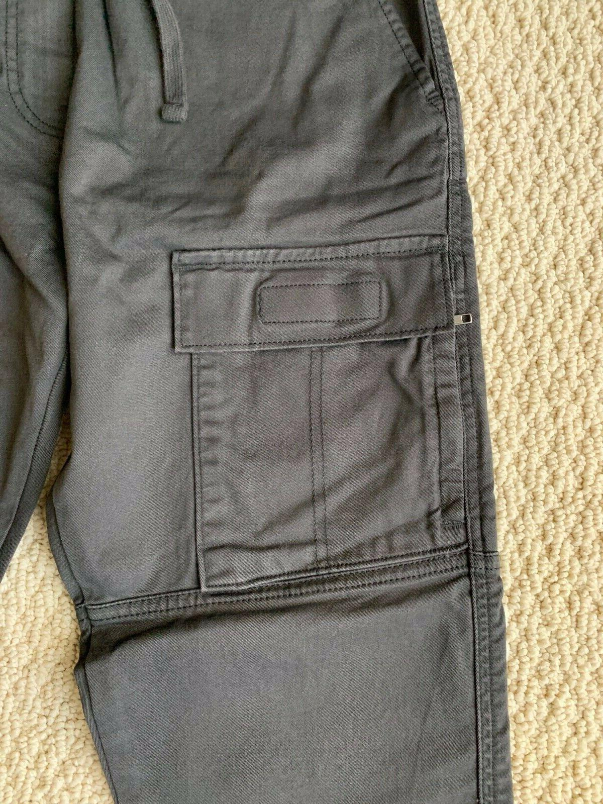NWT Utility Cargo Pocket Tapered Jogger Pants
