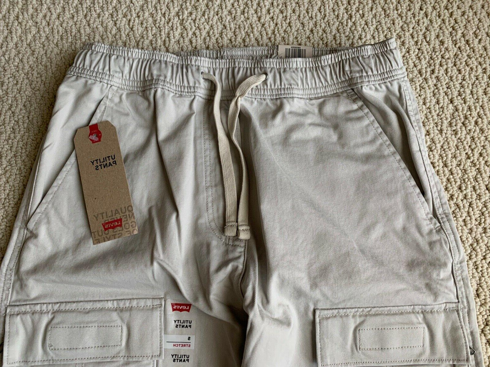 NWT Gray Utility Cargo Tapered SIZE S-2XL