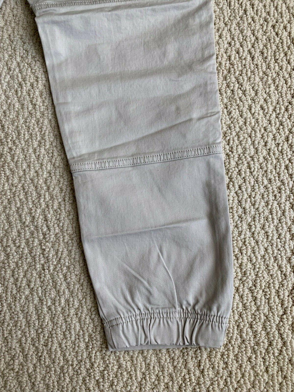NWT Gray Utility Cargo Pocket Tapered Jogger Pants SIZE S-2XL