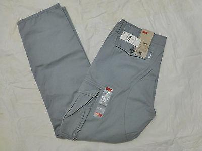 NWT MENS LEVIS CARGO I RELAXED FIT PANTS $64 LIGHT GRAY 1246