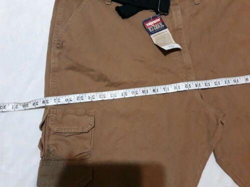 NWT Mens Brown. Plus Cargo Pants ,Multiple