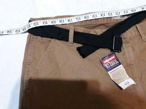 NWT Brown. Plus Size 46X30 Cargo Pockets.