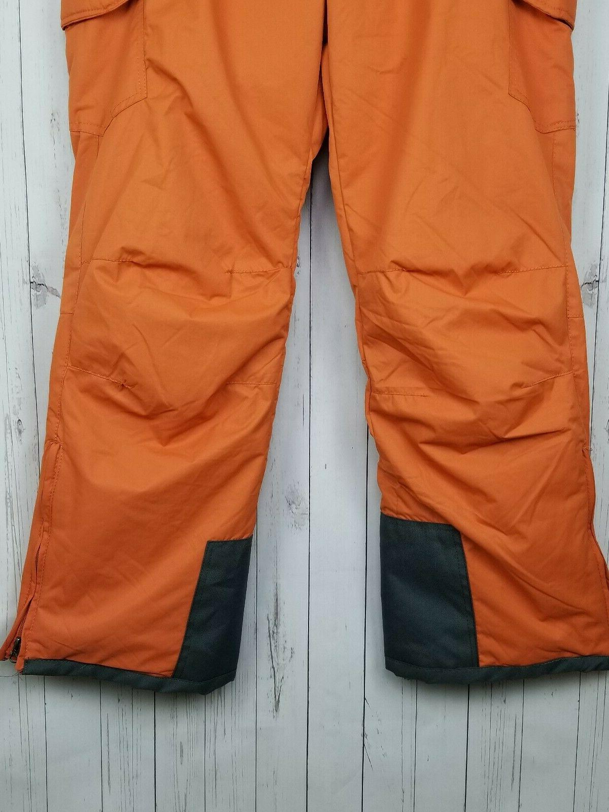 NWT Sports Cargo Pants Orange Ginger
