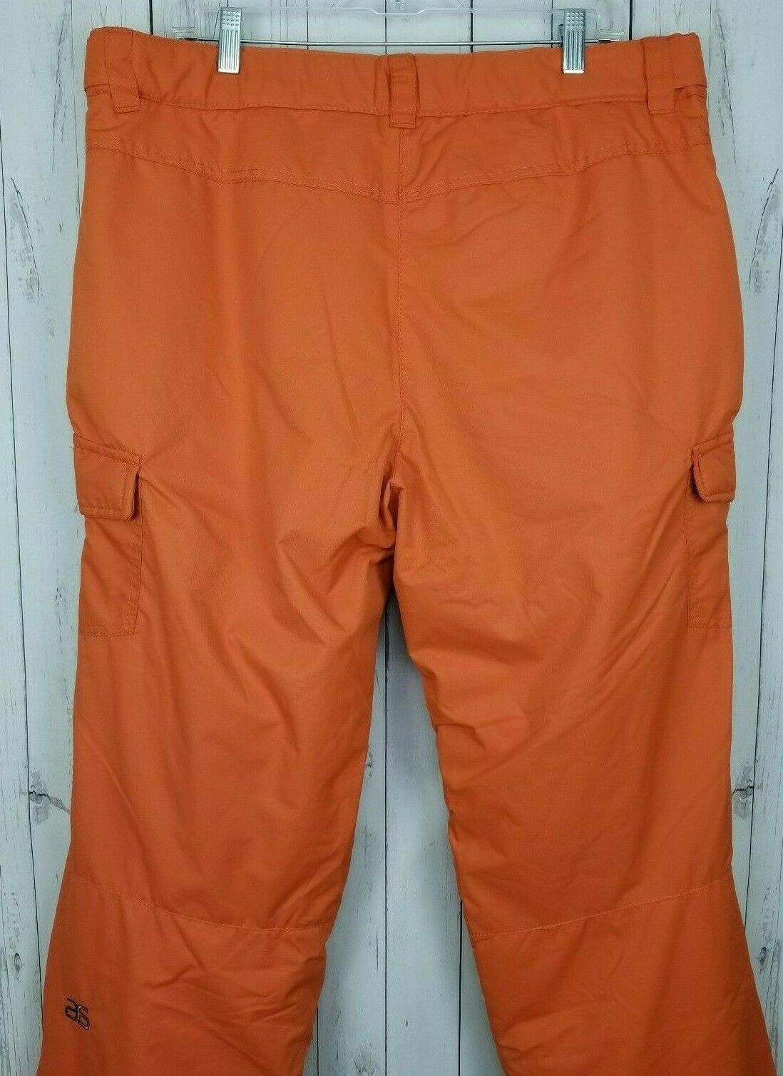 NWT Sports Cargo Pants Orange Burnt Ginger