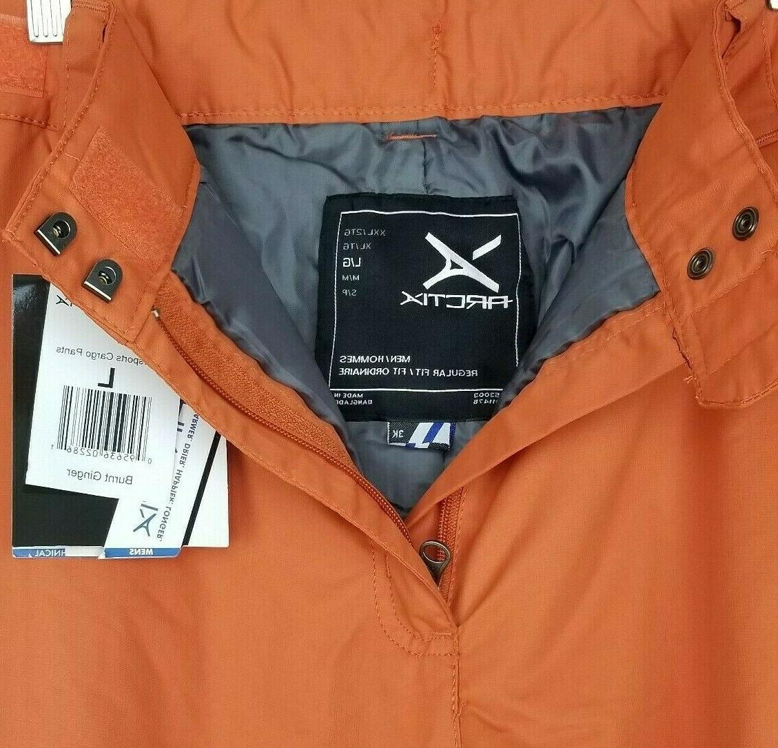 NWT Cargo Pants Mens Orange