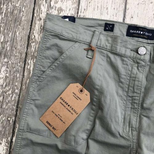 NWT Lucky Brand The Cargo Pants 10 30 Waist
