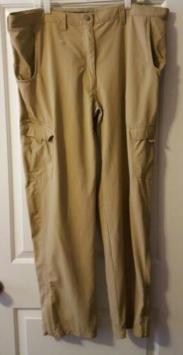 nylon trouser khaki cargo pants 44 34