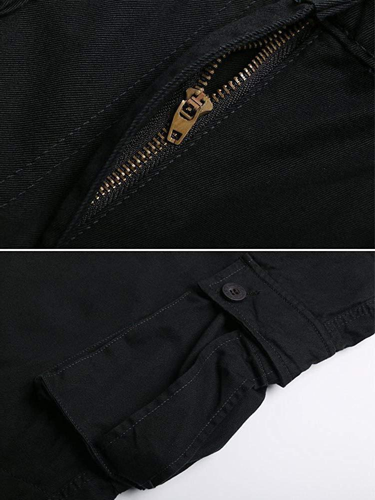 OCHENTA Men's Cargo Pants, Pockets Casual Combat