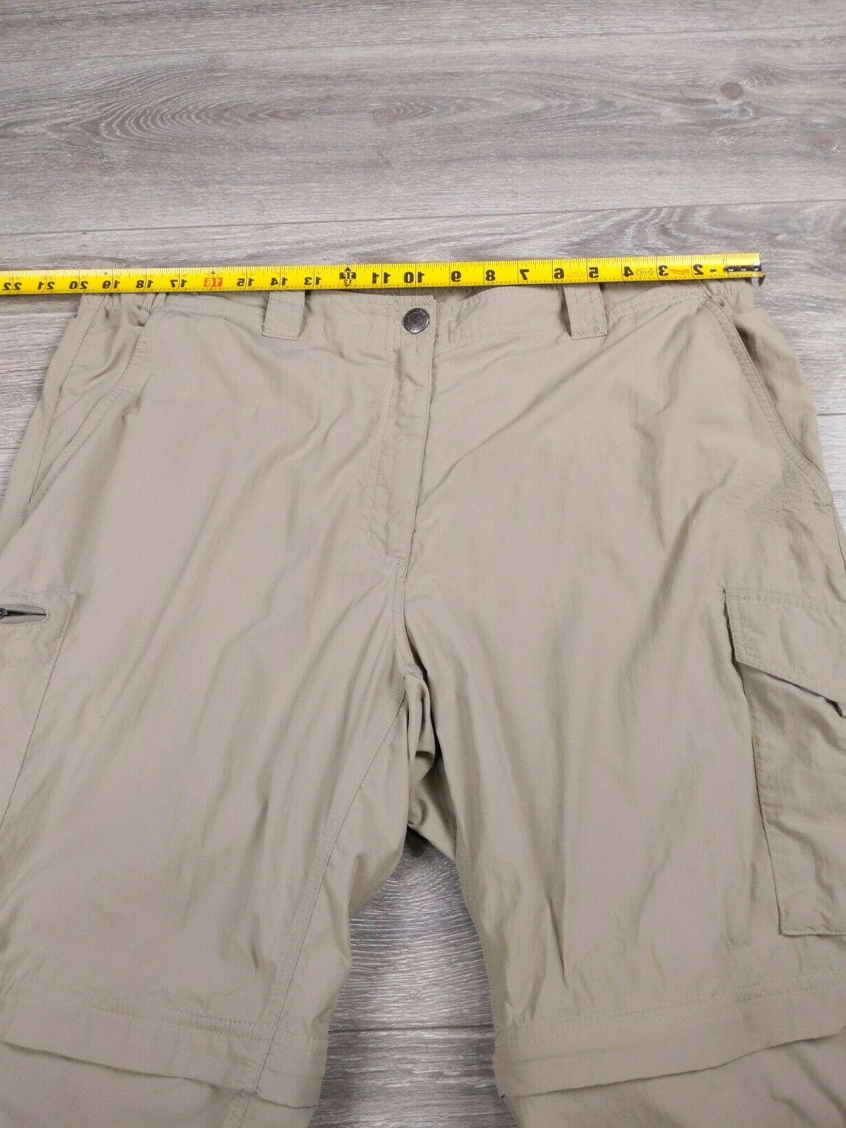 Columbia Convertible Hiking Cargo Men's Size 40 Tan