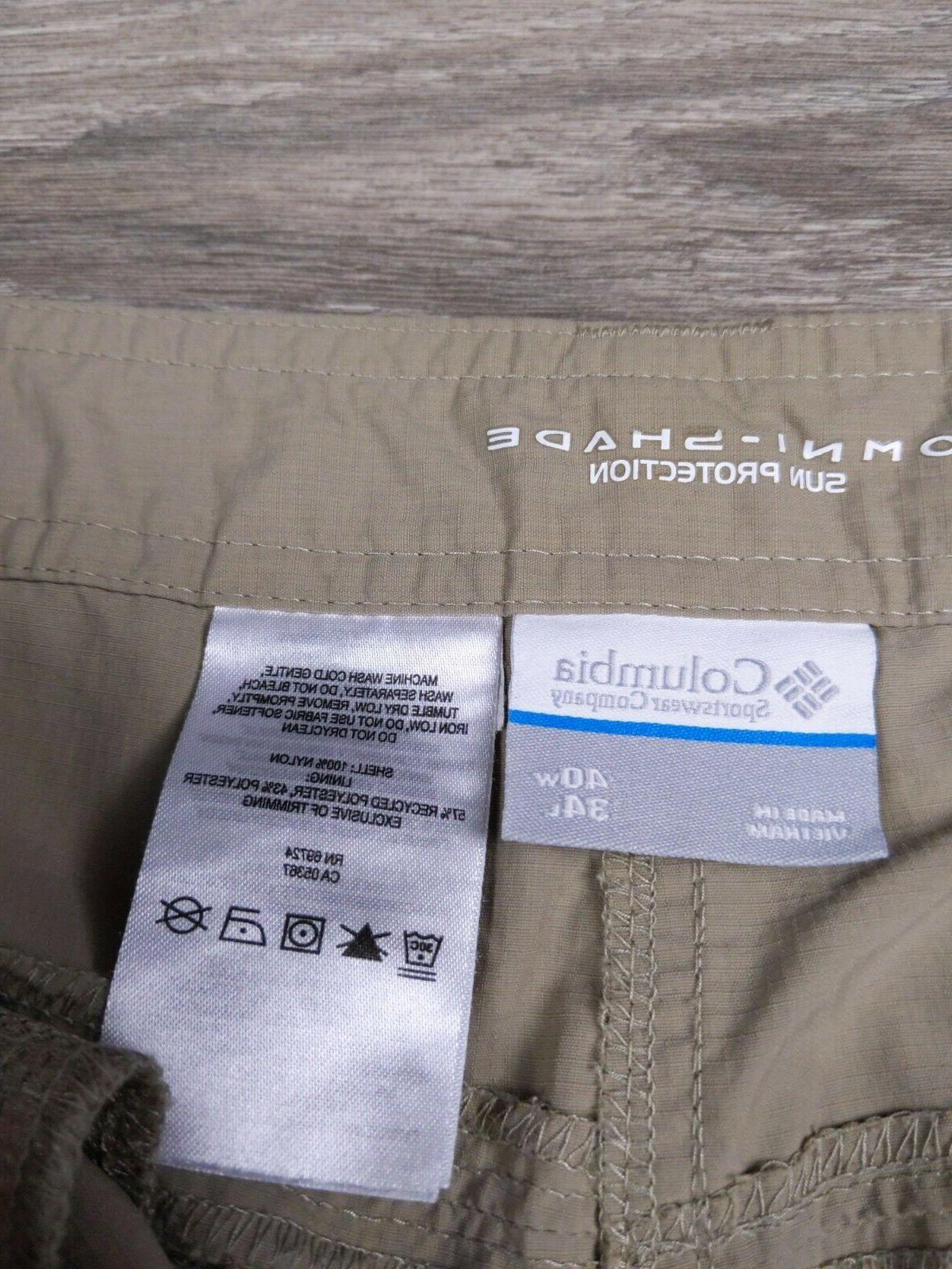Cargo Pants Men's Size 40 34 Tan