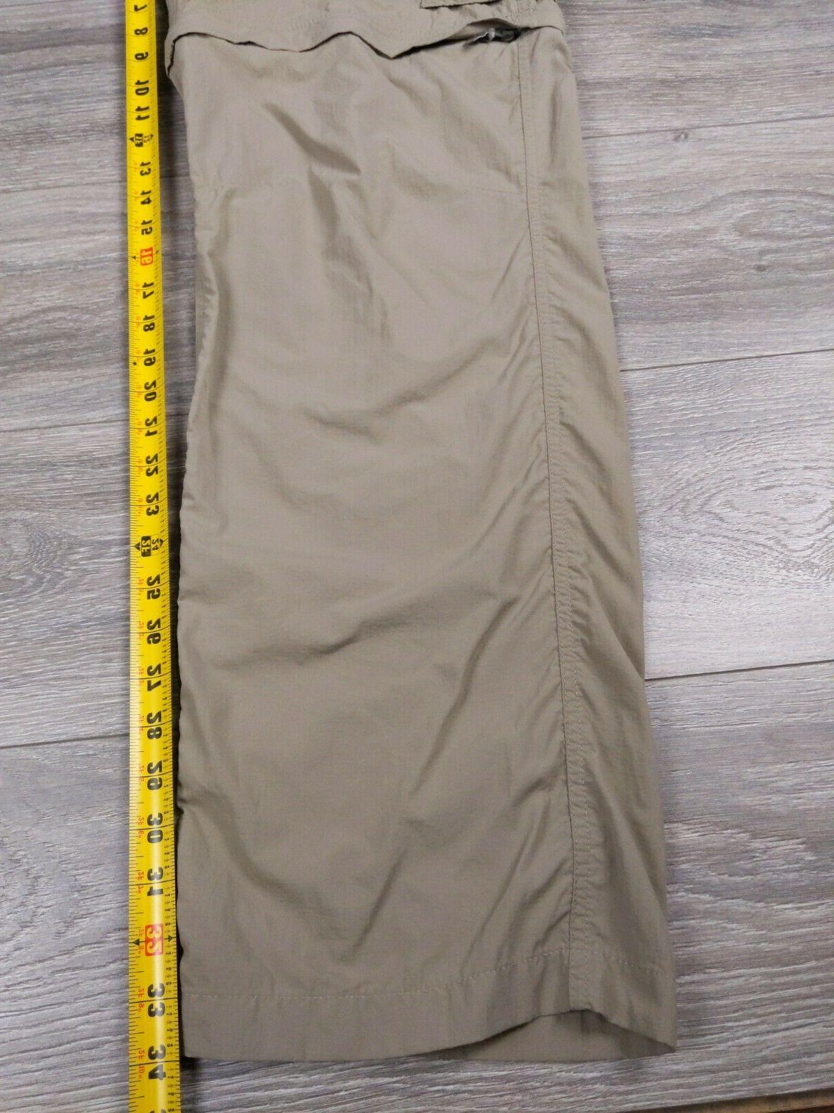 Columbia Omni-Shade Cargo Pants 40 x 34 Tan