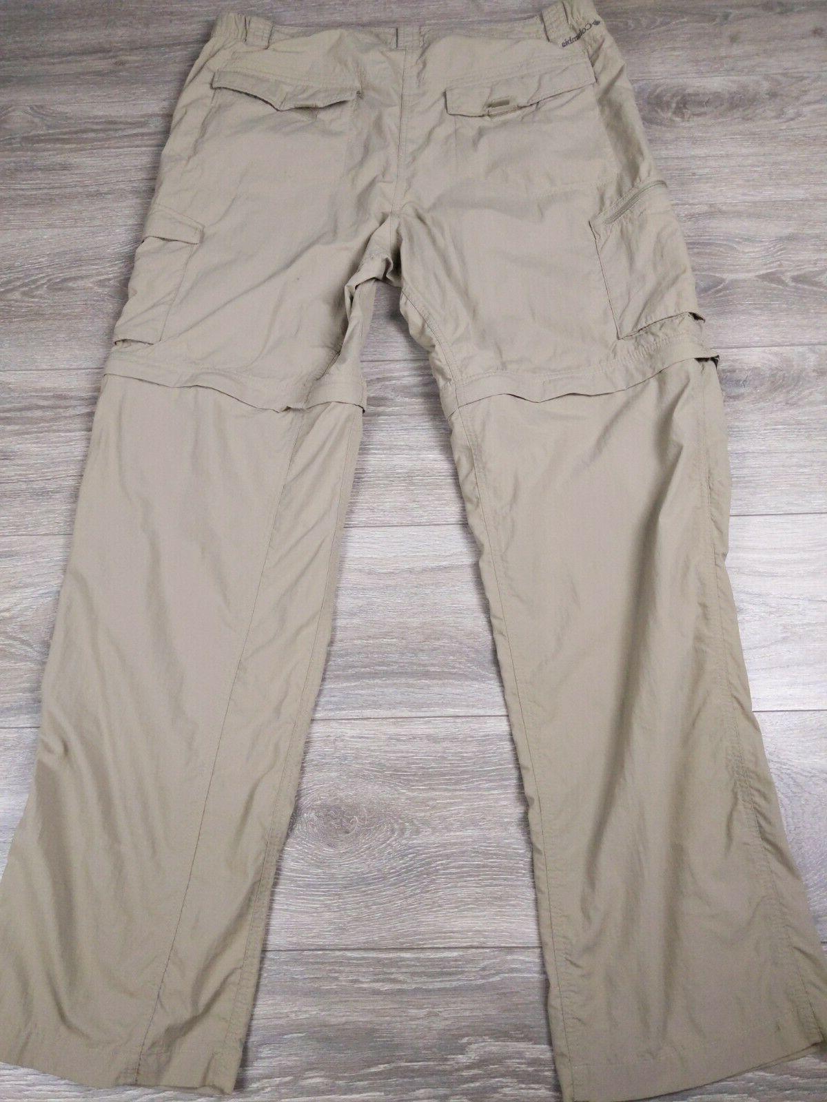 Columbia Omni-Shade Cargo Pants 40 Tan