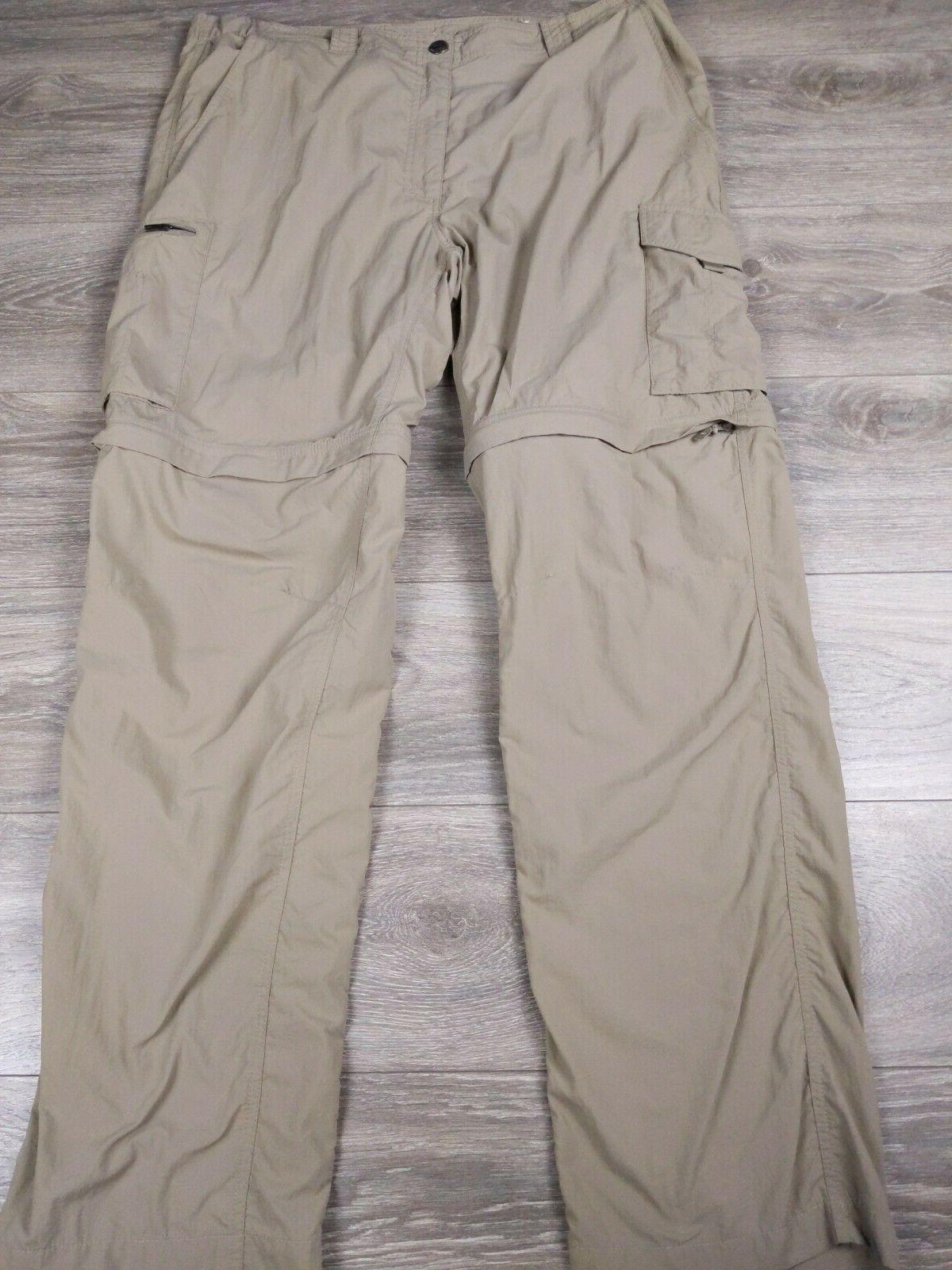 omni shade convertible hiking cargo pants men