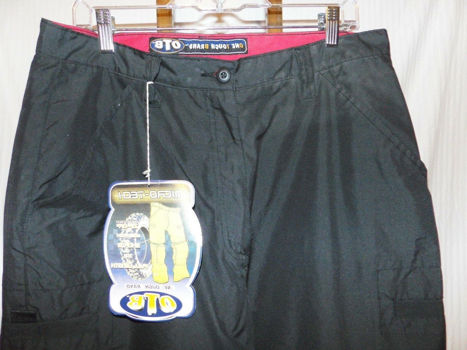 OTB Tough Brand Black Pants 34 34