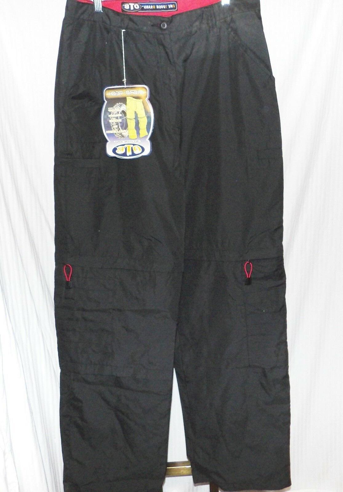 one tough brand black cargo pants size