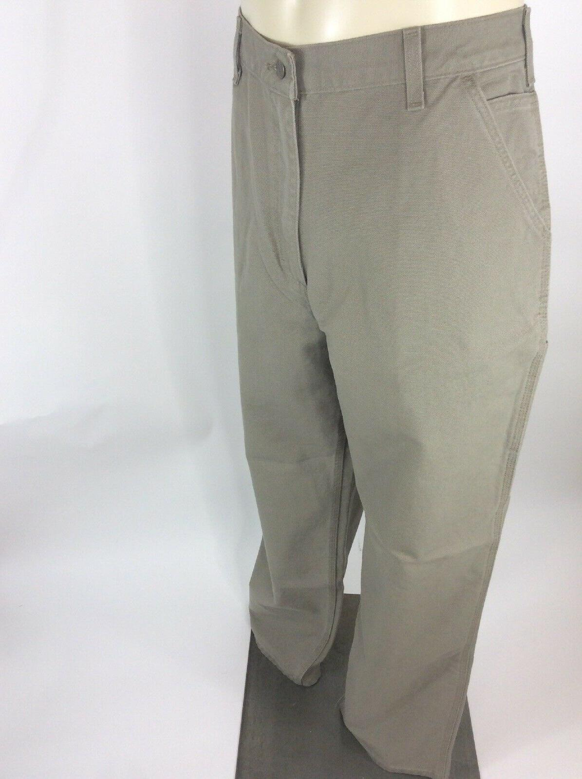 Carhartt Washed Duck Pants RN# 14806 Mens Cargo