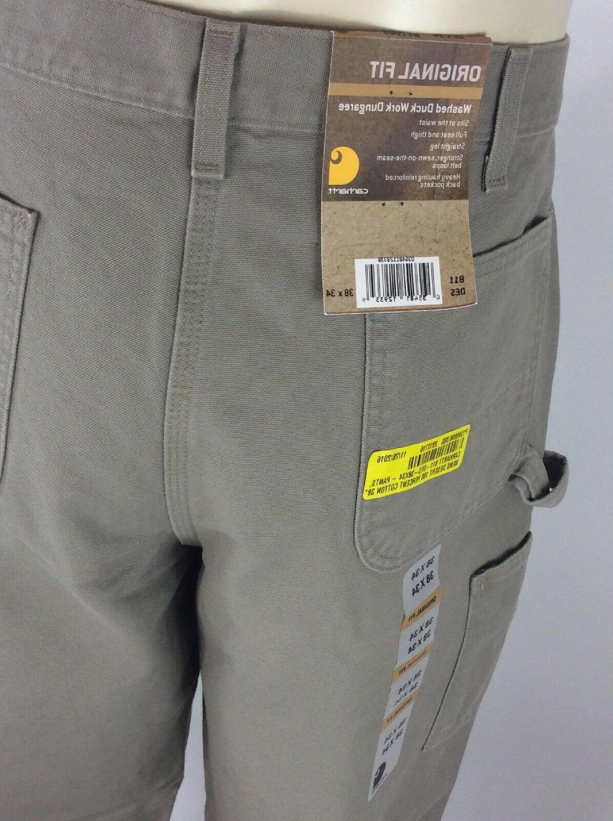 Carhartt Original Fit Duck Pants 14806 Cargo