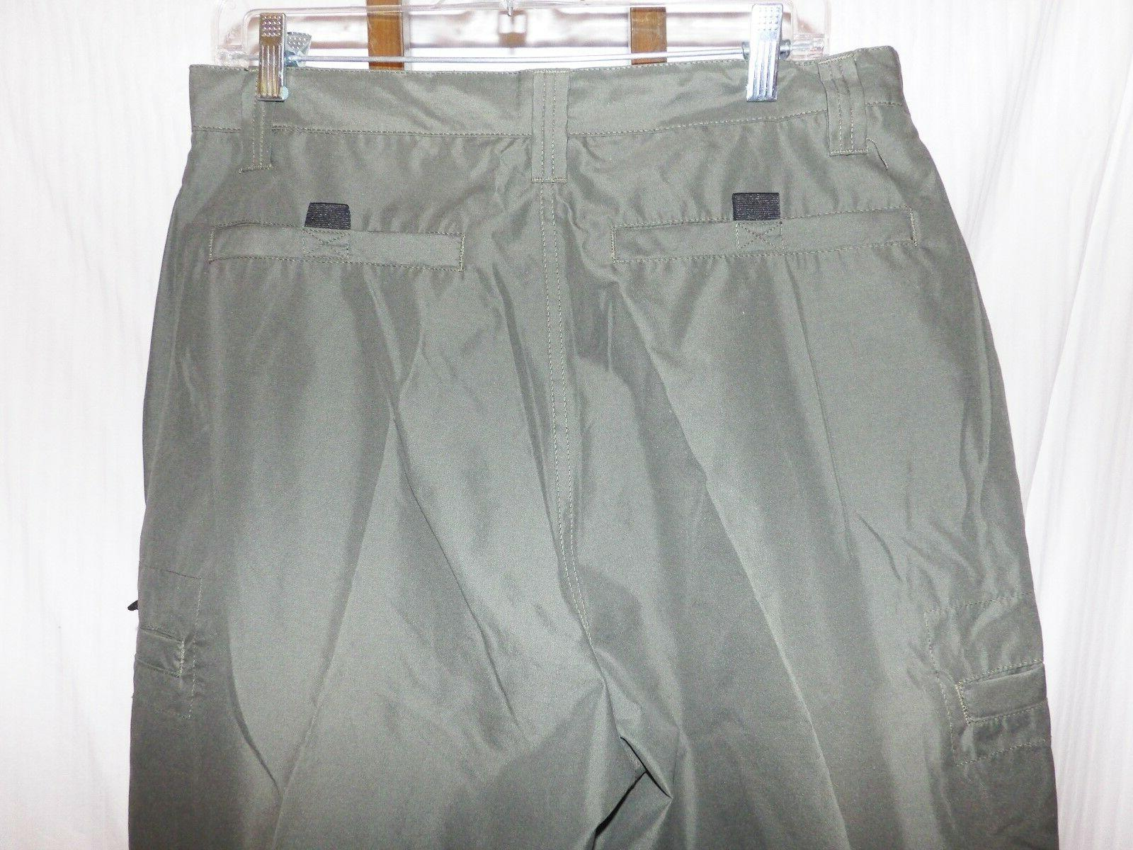 OTB One Tough Brand Olive Pants Size NWT