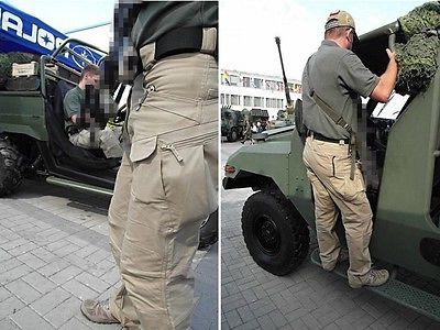 Outdoor Mens Urban Tactical Trousers Cargo Hiking