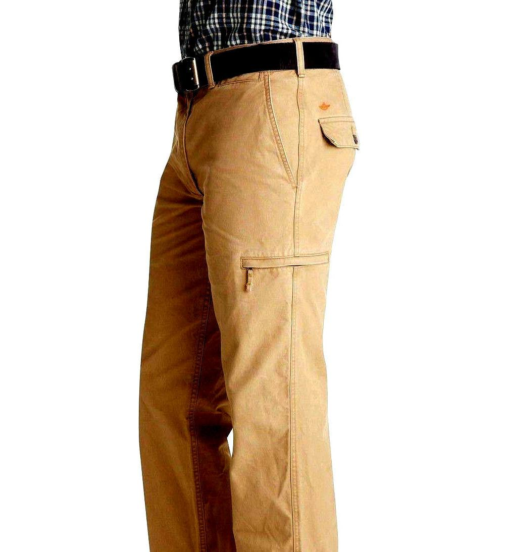 Dockers Pacific Crossover Pants 38x30 D3 Fit Khaki Zip NWT
