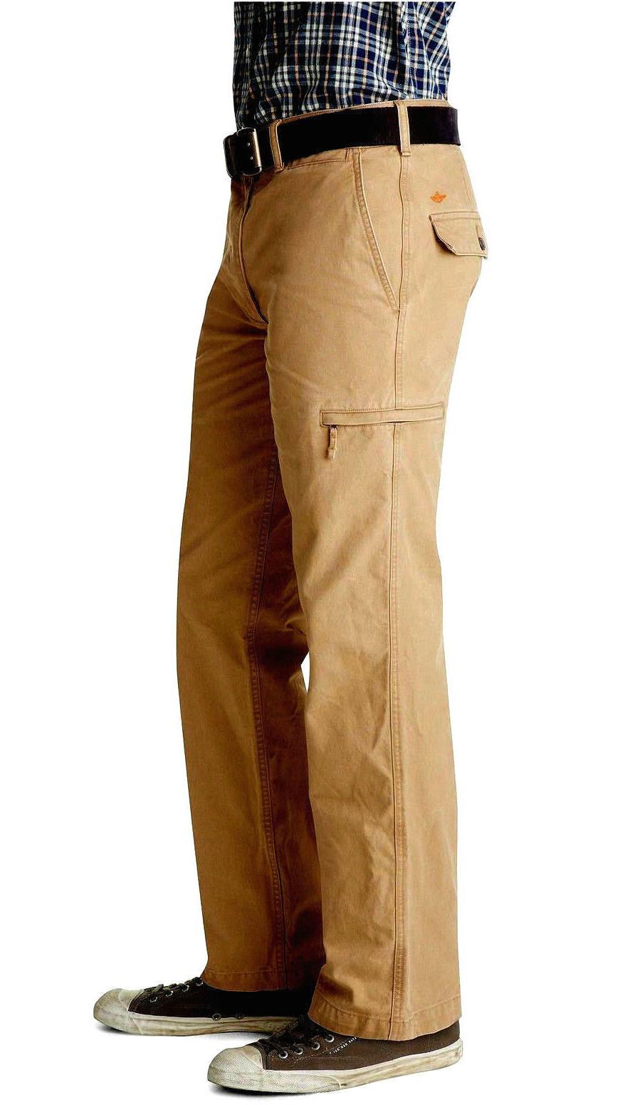 Dockers Cargo Pants 38x30 D3 Classic Fit Khaki Pockets NWT