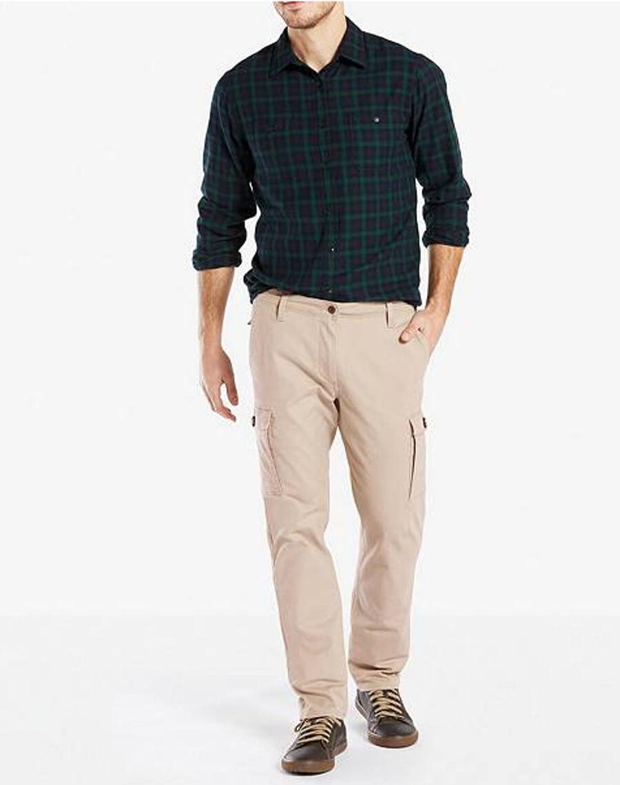 Dockers Premium Cargo Slim Tapered Beige Men's Pants NWT