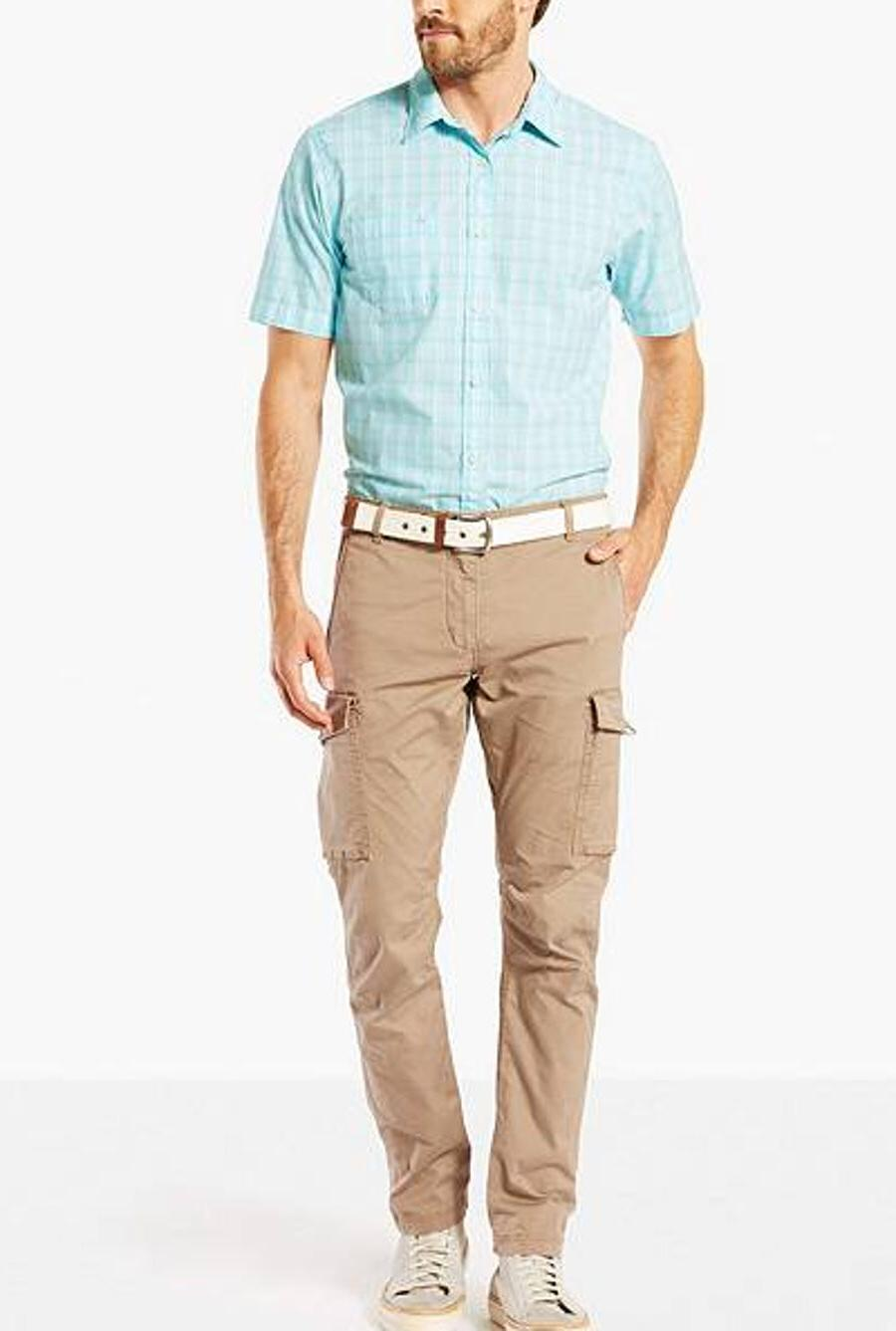 Dockers Premium Cargo Slim Tapered British Khaki Men's Pants