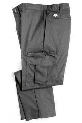 DICKIES PREMIUM INDUSTRIAL CARGO PANTS, CHARCOAL, 34x32
